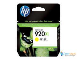 Hp - Hp 920XL-CD974A Orjinal Sarı Kartuş