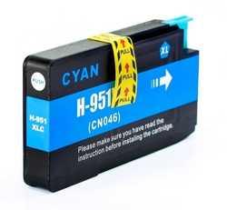 Hp - Hp 951XL-CN046AE Geri Dönüşüm Mavi Kartuş