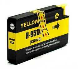 Hp - Hp 951XL CN048AE Geridönüşüm Sarı Kartuş