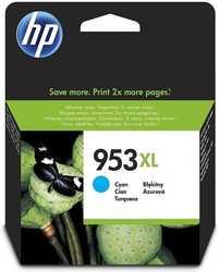 Hp - HP 953XL-F6U16AE Mavi Orjinal Kartuş