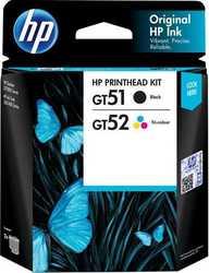 Hp - Hp GT51/GT52 Siyah+Renkli Baskı Kafası (3JB06AA)