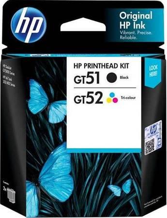 Hp GT51/GT52 Siyah+Renkli Baskı Kafası (3JB06AA)