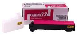 Kyocera - Kyocera Mita TK-550 Kırmızı Muadil Toner