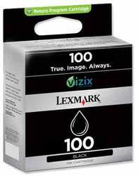 Lexmark - Lexmark 100-14N0820E Orjinal Siyah Kartuş