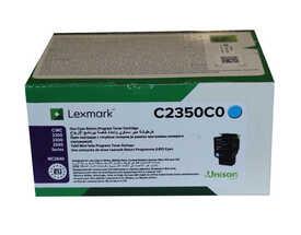 Lexmark - Lexmark C2350C0 Mavi Orjinal Toner