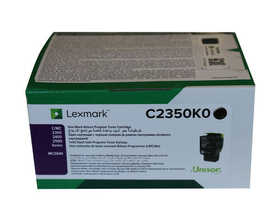 Lexmark - Lexmark C2350K0 Siyah Orjinal Toner