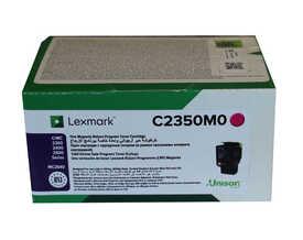 Lexmark - Lexmark C2350M0 Kırmızı Orjinal Toner