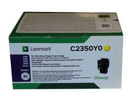 Lexmark - Lexmark C2350Y0 Sarı Orjinal Toner