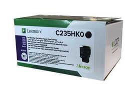 Lexmark - Lexmark C235HK0 Siyah Orjinal Toner