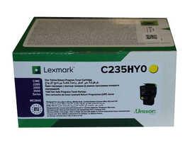 Lexmark - Lexmark C235HY0 Sarı Orjinal Toner