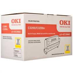 Oki - Oki C3200-42126662 Orjinal Sarı Drum Ünitesi