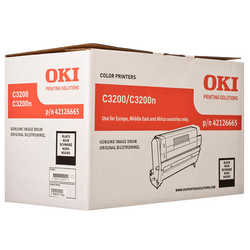 Oki - Oki C3200-42126665 Orjinal Siyah Drum Ünitesi