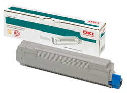Oki - Oki C5250-42127492 Sarı Orjinal Toner Y.K