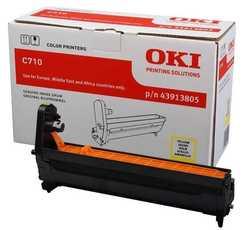 Oki - Oki C710-43913805 Orjinal Sarı Drum Ünitesi