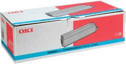 Oki - Oki C9000-41515211 Type C3 Orjinal Mavi Toner