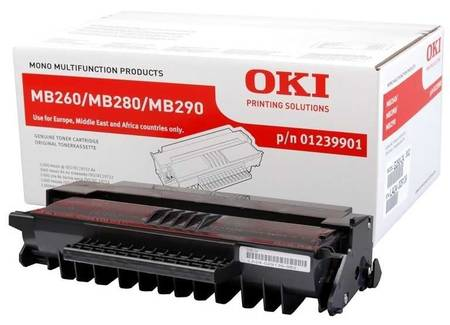 Oki MB260-01239901 Orjinal Toner