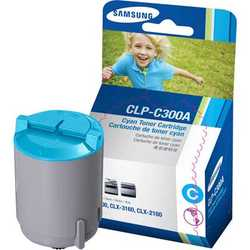 Samsung - Samsung CLP-300 Orjinal Mavi Toner