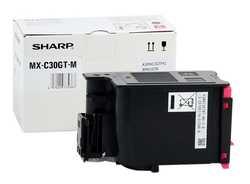Sharp - Sharp MX-C30GTMA Orjinal Kırmızı Toner