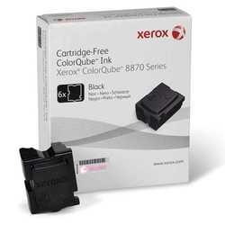 Xerox - Xerox ColorQube 8870-108R00961 Siyah Orjinal Kartuş - 6'Lı